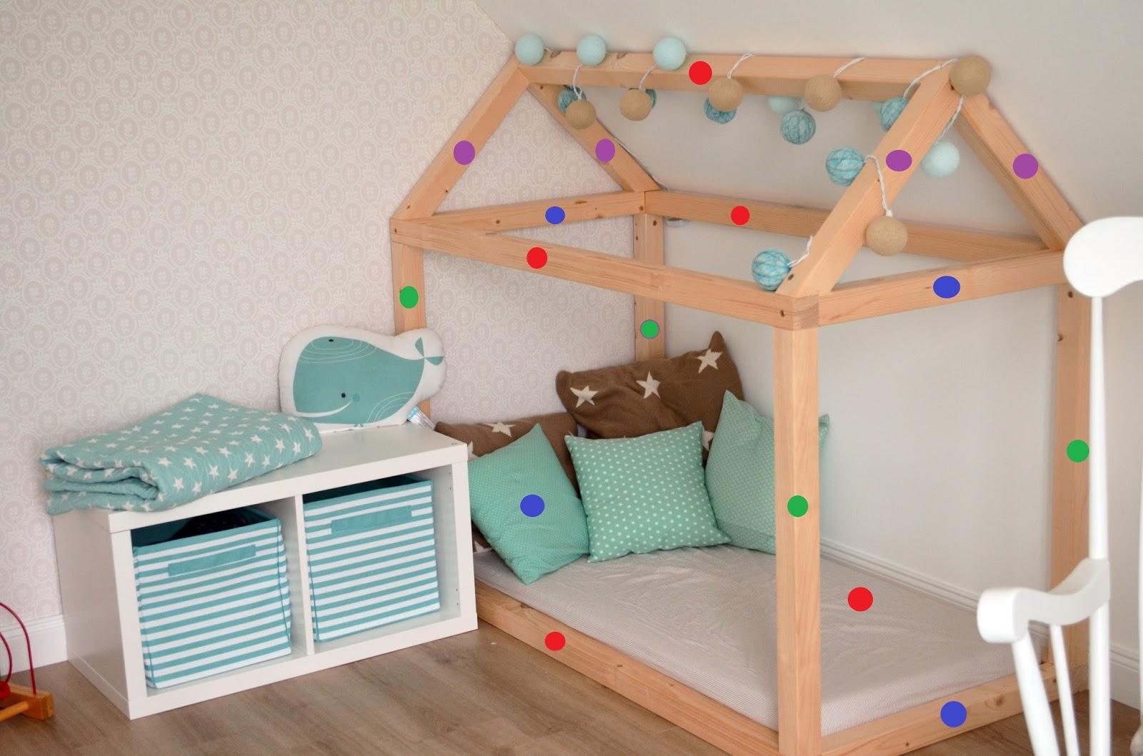 Kinderbett Selber Bauen Detaillierte Bauanleitung Kuschelhaus Deko Hus