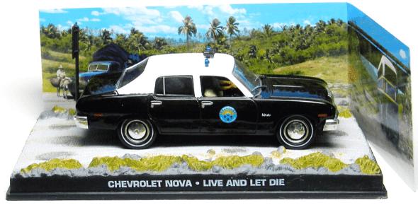 Chevrolet Nova Live and let die 1:43
