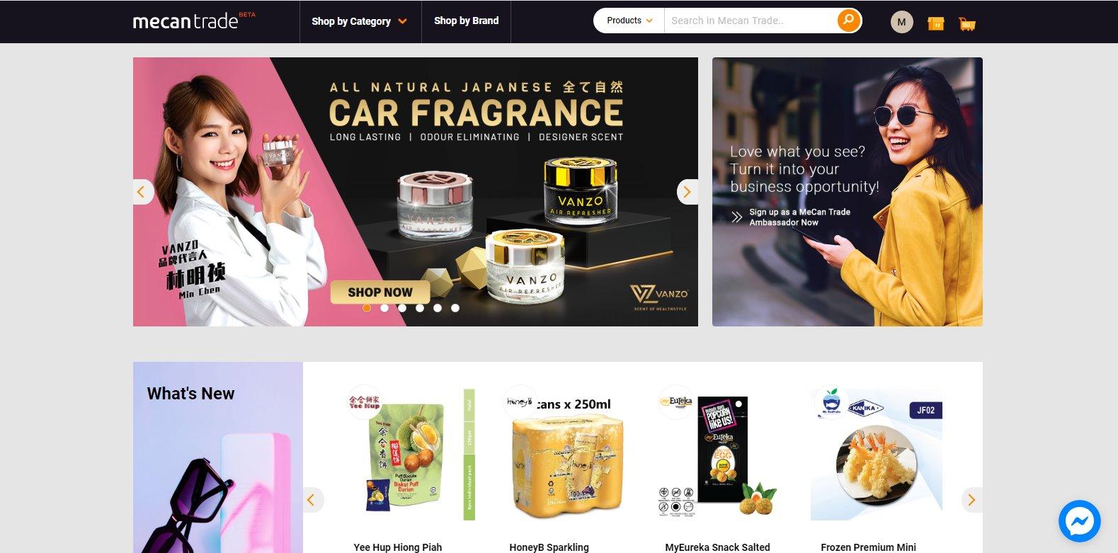 MeCan Trade - Platform Urusniaga Tanpa Modal Secara Online