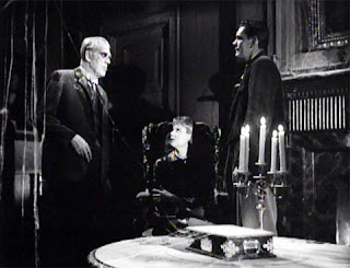 Boris Karloff, Carolyn Kearney and Dick York in The Incredible Doktor Markesan (1962)
