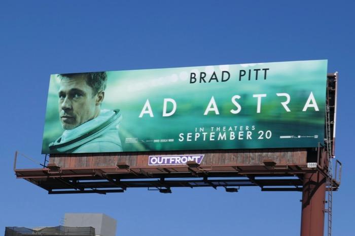 Ad Astra movie billboard