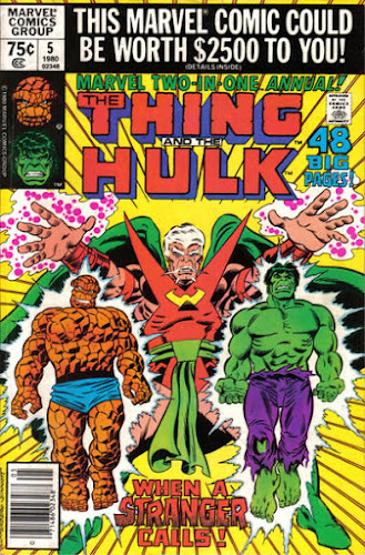 Marvel Two-in-One Annual #5, the Thing, the Hulk and the Stranger