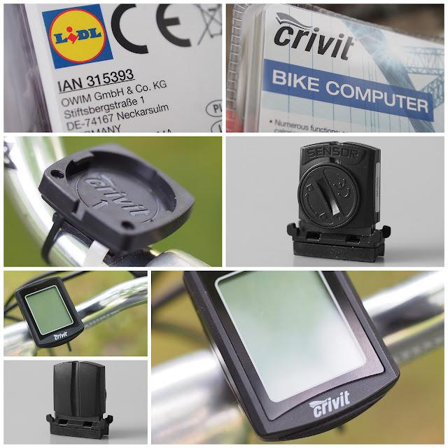 Wakacje z rowerem – Licznik rowerowy Crivit z Lidla