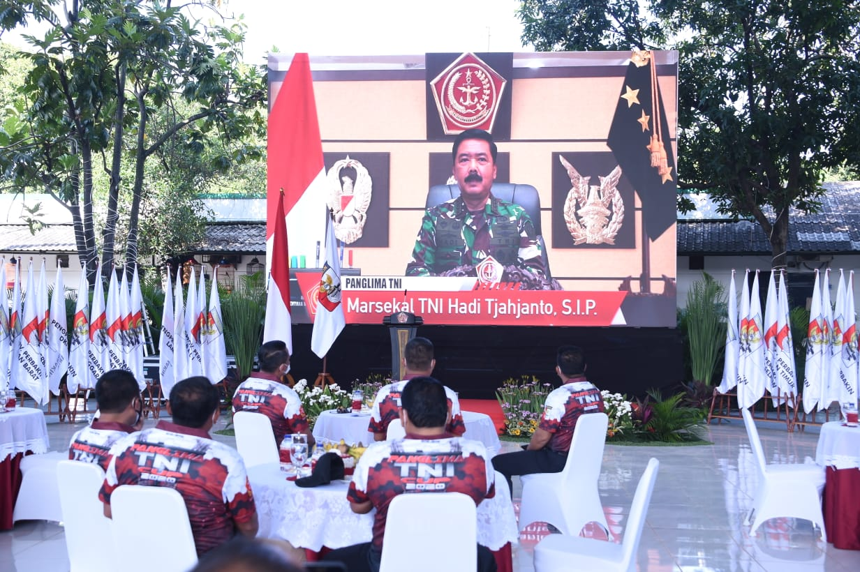 Panglima TNI Buka Kejurnas Menembak di Senayan
