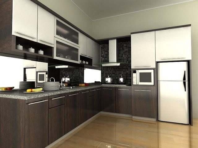 Kitchen Set Model Huruf L/Letter L