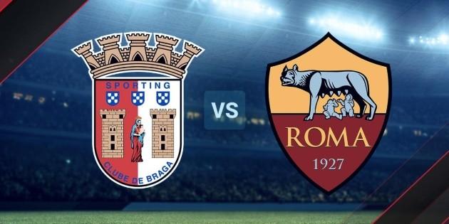 بث مباشر مباراة روما وسبورتينج براجا