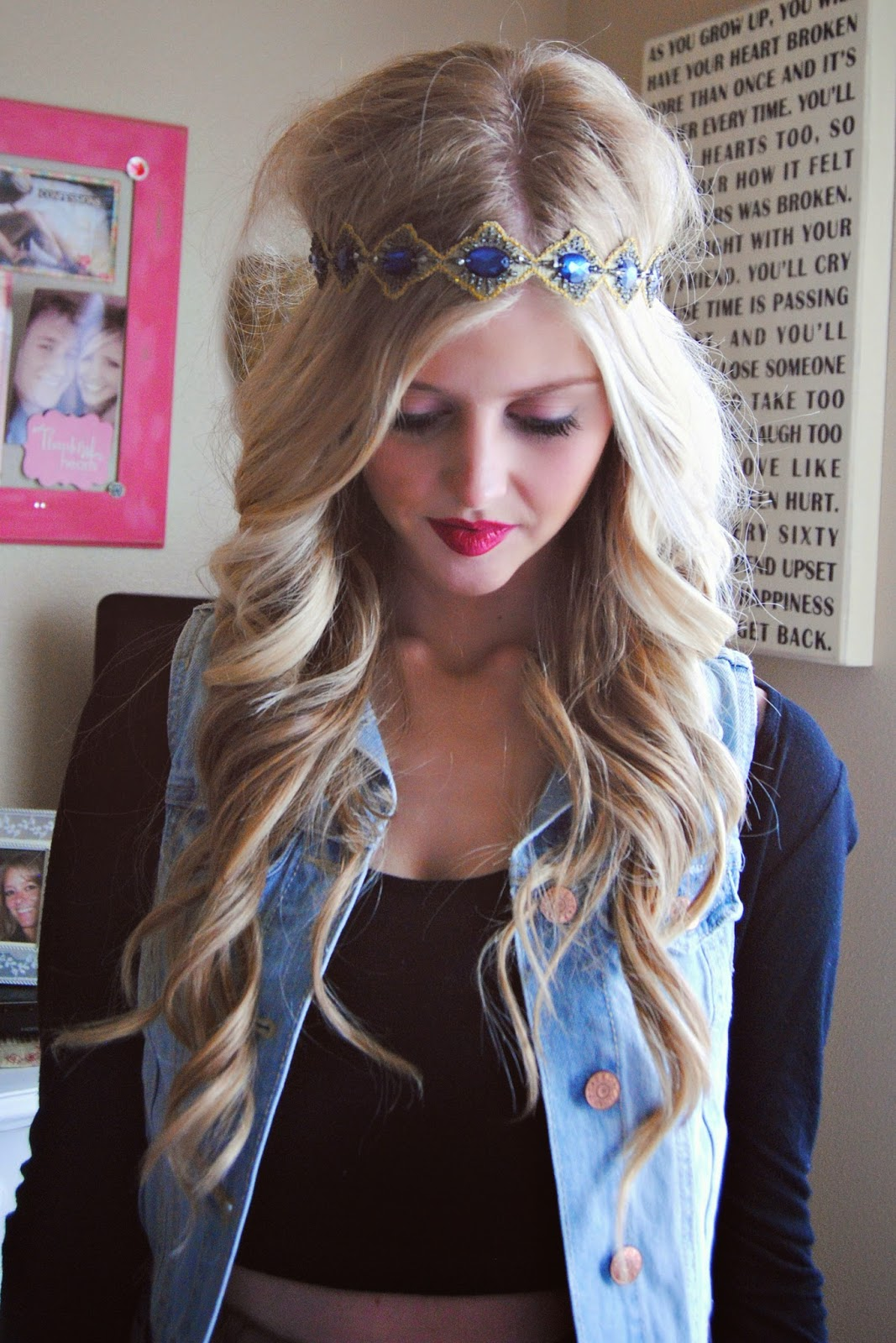 the boho chic headband is seriously one of my favorite things ever!! 4f04cc341cb
