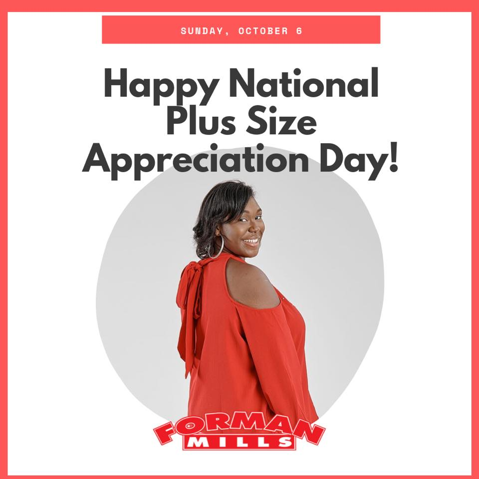 National Plus Size Appreciation Day Wishes Lovely Pics