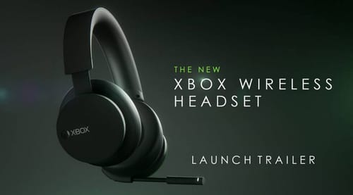 Microsoft announces new wireless headphones for Xbox