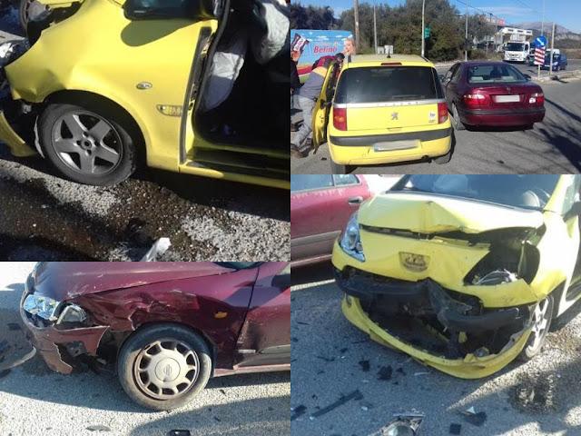 Ηγουμενίτσα: Τροχαίο ατύχημα στα φανάρια Μαυρουδίου