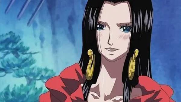 boa hancock Karakter anime imut dan cantik