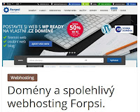 Domény a spolehlivý webhosting Forpsi. - AzaŽurnál
