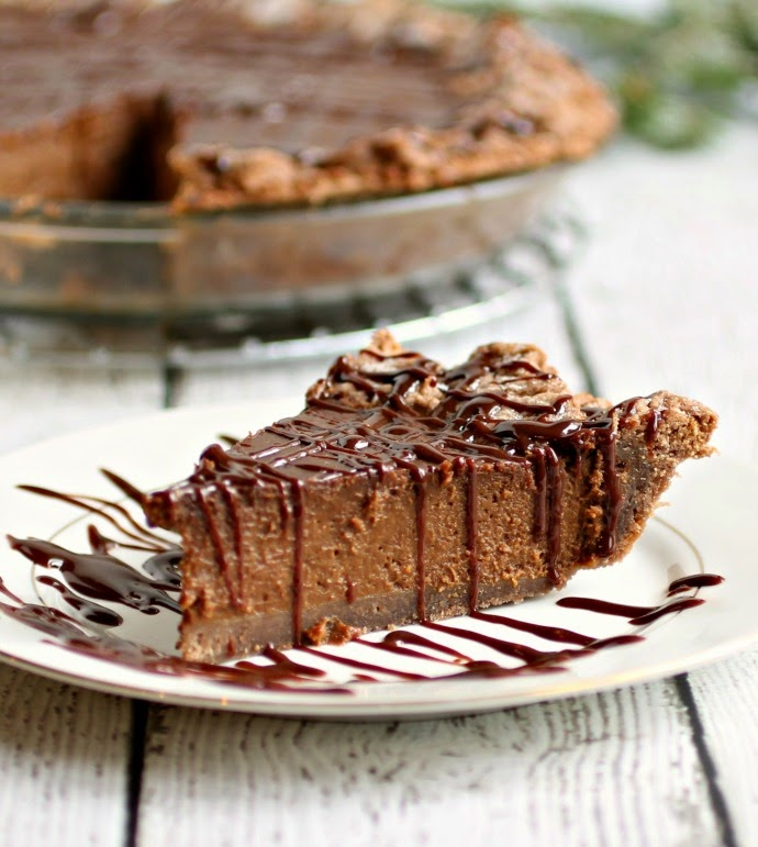 Double Chocolate Pumpkin Pie