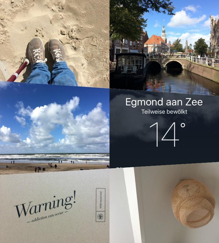 Collage von Bildern, die am 12. jedes Monats den Tag dokumentieren, Teil 1
