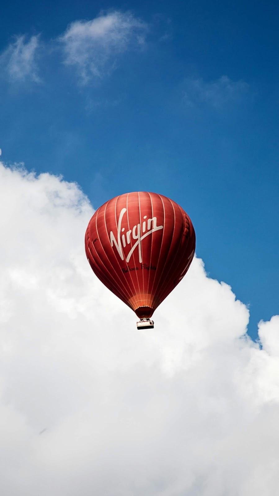 Virgin in the sky