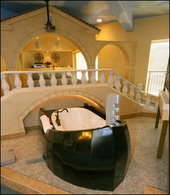 Italian themed bedroom