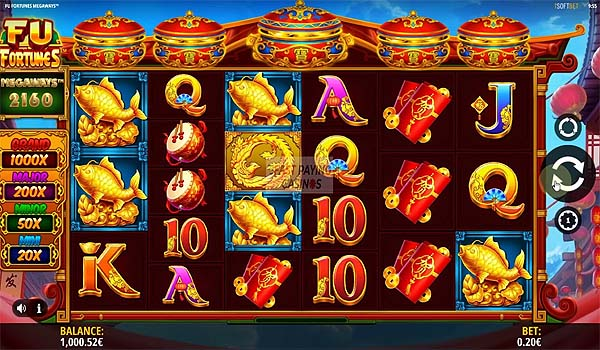 Main Gratis Slot Indonesia - Fu Fortunes Megaways (iSoftbet)