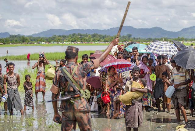 Dua Wartawan Reuters yang Liput Rohingya Ditangkap