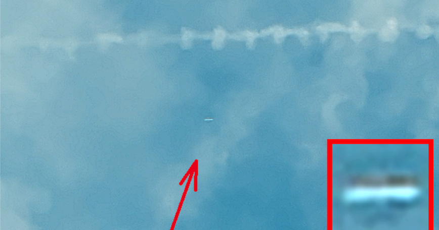 White UFO Seen Shooting Though Storm Clouds Over Louisiana On Oct 11, 2019, Photos, UFO Sighting News.