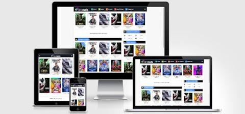 Cine Mais Blogger Template para Filmes ou Series