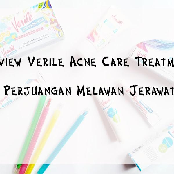Review Verile Acne Care Treatment | Perjuangan Melawan Jerawat