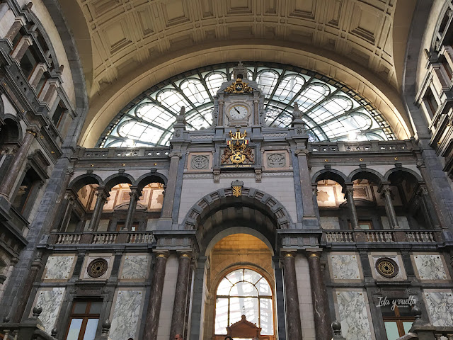 Edificio de la Estación Amberes