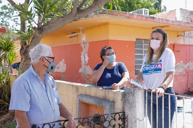 En Francisco de Montejo les ha dado resultado el PAN y votarán por Cecilia Patrón