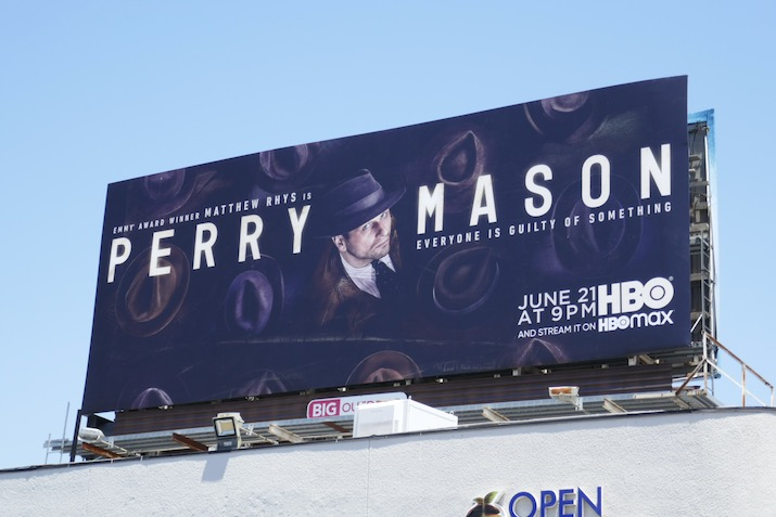 Perry Mason 2020 series premiere billboard