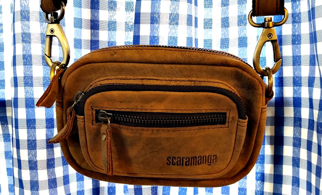 The Scaramanga leather micro handbag - The Pixie