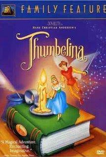 DVD box Thumbelina 1994 animatedfilmreviews.filminspector.com