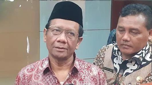 Mahfud MD Anggap Yel Islam Yes Kafir No Ganggu Keutuhan Bangsa