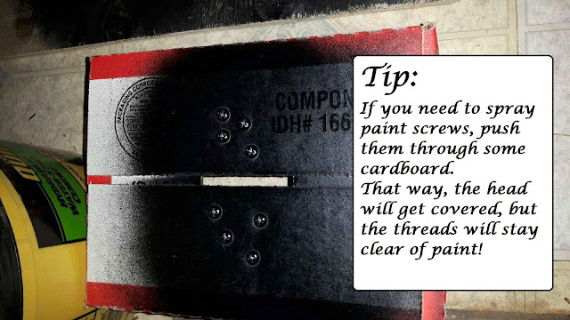 Tip for painting screws
