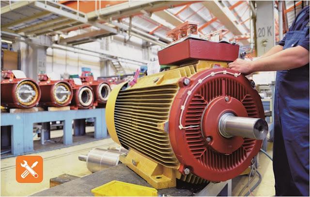 Rangkaian Pengasutan (Starting) DOL (Direct Online) Motor Induksi 3 Fasa