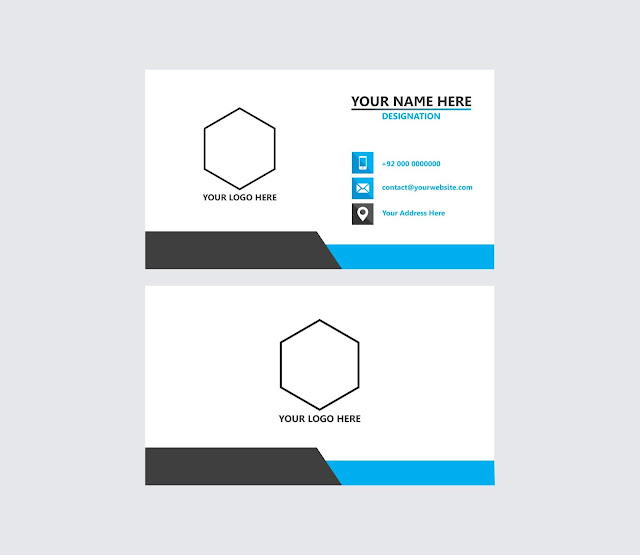 Business Card Desgin Free Download, Visiting Card Design Free Download, Vector, Graphic Design, The Graphics Market,