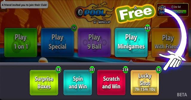 Lucky Shot Free 8 ball pool