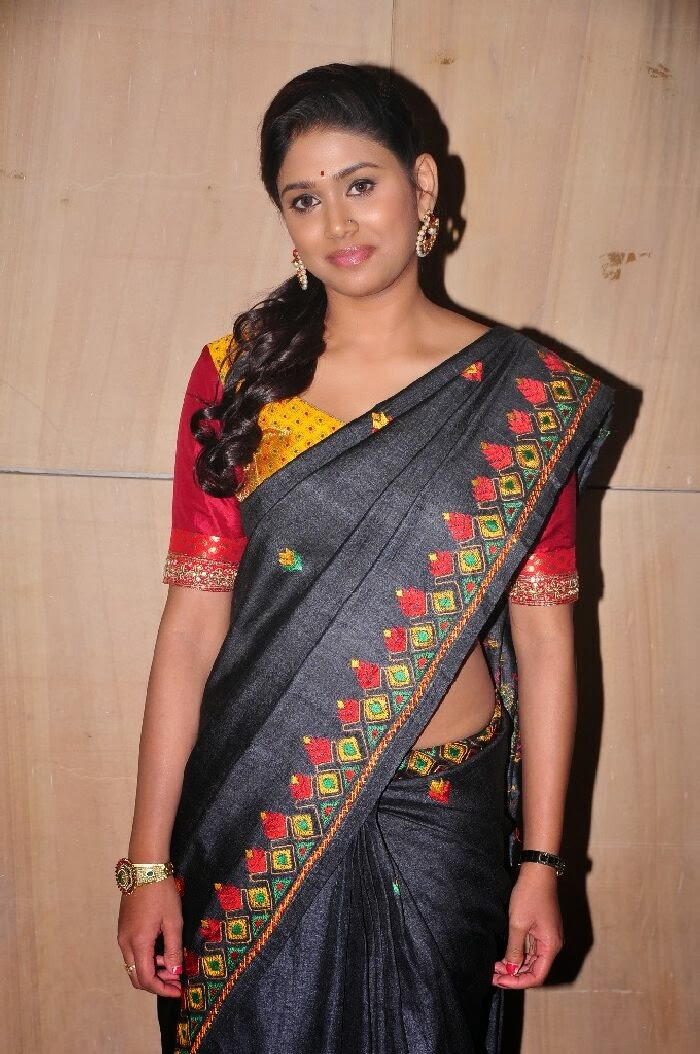Manisha Yadav Hot Photos In Saree At Preminchali Movie -3029