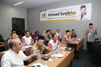 Kunjungi Dapil, Ahmad Syaikhu Ajak Aleg PKS Buat Desa Binaan