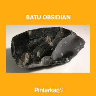 Gambar Batu Obsidian