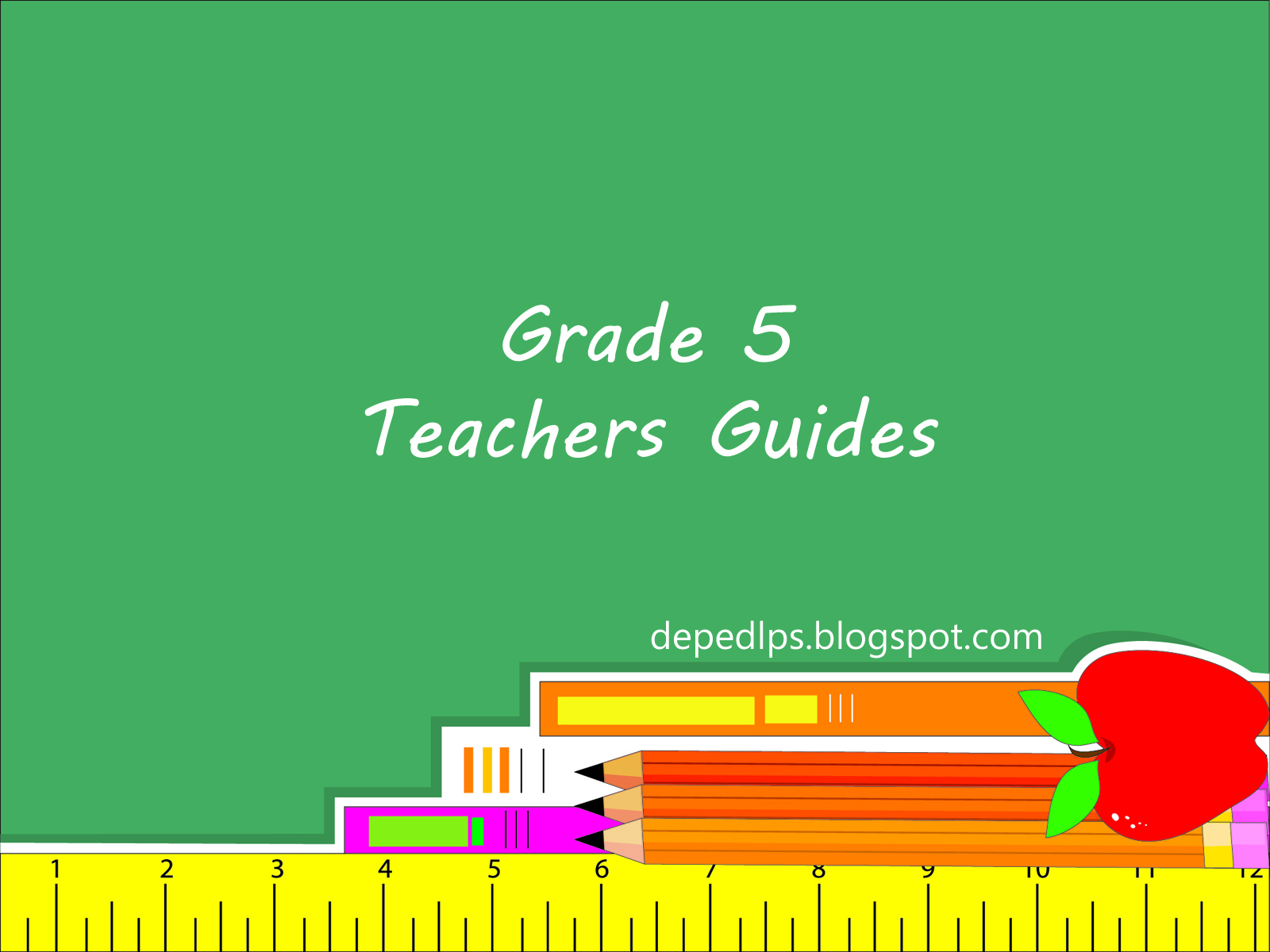 Worksheet 5 Grade grade 5 teachers guides learning materials deped lps materials