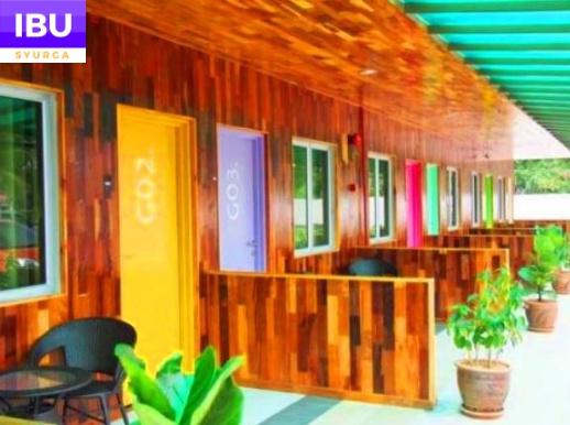 Mabohai Resort Klebang Melaka deretan bilik
