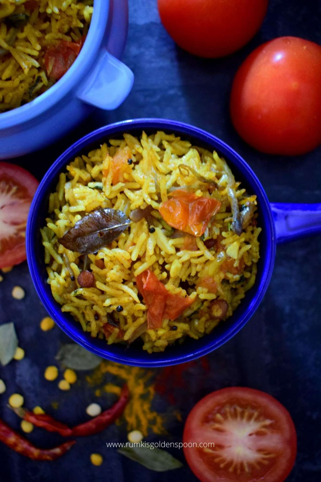 tomato rice, tomato rice recipe, recipe for tomato rice, tomato with rice, how to make tomato rice, how make tomato rice, tomato rice how to make, tomato rice Indian, tomato rice south Indian style, tomato rice south Indian, south indian tomato rice recipe, south Indian style tomato rice, thakkali rice, thakali rice, how to make thakkali rice, thakkali sadam, what is tomato rice, rice recipes, rice recipe, with rice recipe, rice recipe vegan, rice recipe vegetarian, rice recipes veg, rice recipe with vegetables, rice recipe Indian, rice recipes indian, Indian rice recipe easy, tomato rice recipe Indian, tomato recipe Indian, tomato rice recipe easy, one pot tomato rice, Rumki's Golden Spoon