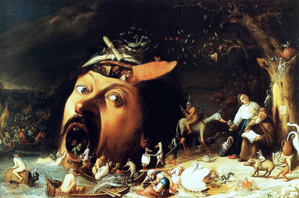 Joos Van Craesbeeck, Macabre Art, Macabre Paintings, Horror Paintings, Freak Art, Freak Paintings, Horror Picture, Terror Pictures