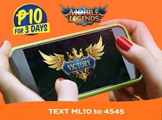 Talk N Text ML10 – 3 Days Mobile Legends Promo for only 10 Pesos
