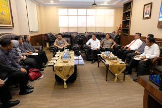 Kapolda Jambi Terima Kunjungan Silahturahmi Bawaslu Provinsi Jambi.