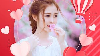 Tạo avatar khung ảnh valentine tình yêu