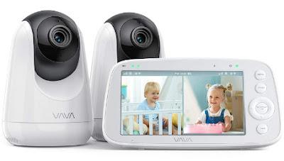 Vava 720p 5-inch HD baby monitor