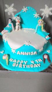 cake frozen, toko kue yasmin