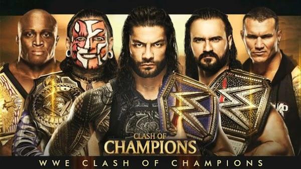 Ver Repetición Wwe Clash Of Champions 2020 En Español Full Show