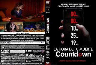 CARATULA LA HORA DE TU MUERTE-COUNTDOWN 2019[COVER DVD]