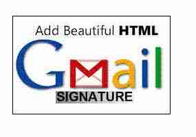 gmail, sign, insert, image